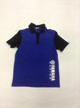 Yamaha Racing Polo Blue Black