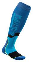 Alpinestars MX Plus-2 Socks Blue Cyan