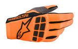 Alpinestars Racefend Gloves Orange Fluo Black