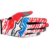 Alpinestars Racer Braap Gloves Red White