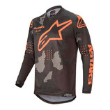 Alpinestars Racer Tactical Black Gray Camo Orange Fluo