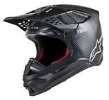 Alpinestars Supertech S-M10 Solid Black Matt Carbon
