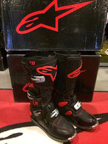Alpinestars Tech 8 Black Red