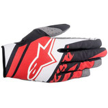 Alpinestars Supermatic Gloves Red White Black