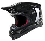 Alpinestars Supertech S-M8 Solid Black Glossy