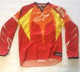 Alpinestars Techstar Jersey Orange Red