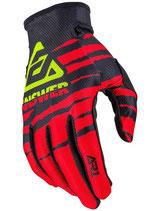 Answer AR1 Glow Gloves Red Black Hyper Acid