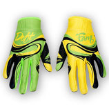 Deft Family Gloves ART2 Swoop Green Yellow