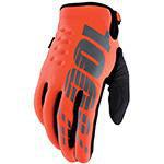100% Brisker Gloves Orange