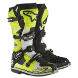 Alpinestars Tech 8 RS Yellow Fluo Black White