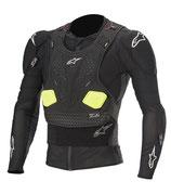 Alpinestars Bionic Pro V2 Jacket Black Yellow Fluo