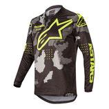 Alpinestars Racer Tactical Black Gray Camo Yellow Fluo