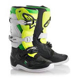 Alpinestars Tech 7S Limited Edition Black White Yellow Grey