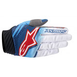 Alpinestars Techstar Venom Gloves Blue White