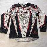 Alpinestars Charger Jersey Red Black White