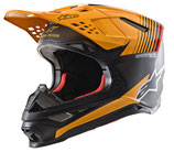 Alpinestars Supertech S-M10 Dyno Black Carbon Orange M&G