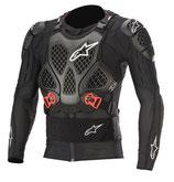 Alpinestars Bionic Tech Jacket Black White Red