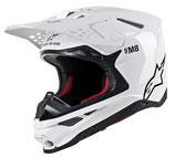 Alpinestars Supertech S-M8 Solid White Glossy