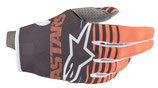 Alpinestars Radar Gloves Anthracite Orange Fluo