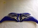 Yamaha Original Radiator Scoops TTR-110 Blue