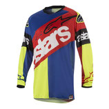 Alpinestars Racer Flagship Red Yellow Fluo Blue
