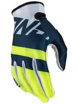 Answer AR1 Voyd Gloves Midnight Hyper Acid White