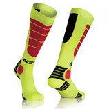 Acerbis MX Impact Socks Yellow Red