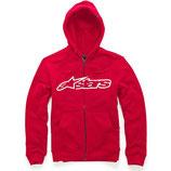Alpinestars Blaze Zip Fleece Red