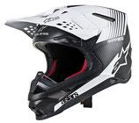 Alpinestars Supertech S-M10 Dyno Black Matte Carbon White