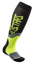 Alpinestars MX Plus-2 Socks Black Yellow Fluo