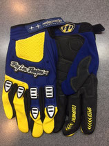 Troy Lee Designs Gloves Blue Yellow