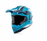 Acerbis Kid Helmet Steel Blue