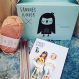 Knit Kit For Kids  - Strickset für Kinder - Sandnes Garn