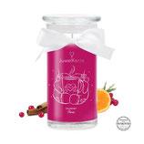 Cranberry Punch Kristalle von Swarovski mit Ohrringe