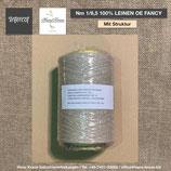 Nm 1/6,5  100% LEINEN  OE FANCY (mit Struktur)