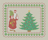 Père Noël au Sapin