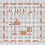 Bureau marron