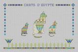 Trois Chats d'Egypte