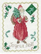 Carte vintage Père Noël