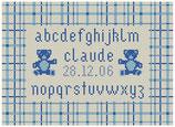 Abécédaire Ourson bleu