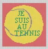 Je suis au Tennis
