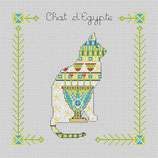Chat d'Egypte au Vase bleu