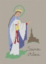 Alice ou Adélaïde (Sainte)
