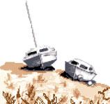 Bateaux sur le Sable 1