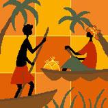 Pirogues d'Afrique