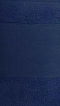 Serviette de bain coton Bleu foncé