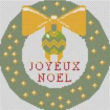 Couronne joyeux Noël