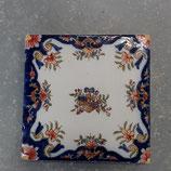 Superbe carrelage Fourmaitraux Hornoy Desvres dimensions 16 × 16 cm  référence x1