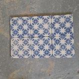 Carreaux Fourmaintraux Courquin dimensions 15 ×15 cm  25 euros pièke  stock 40 carreaux