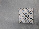 Ancien carrelage numéro 40 Faience de Desvres dimensions 11cm ×11cm